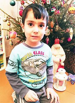 Эльвин Алиев, 5 лет, врожденный порок сердца, спасет эндоваскулярная операция. 422775 руб.