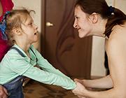В центре </br>для детей с ДЦП </br>появился йог