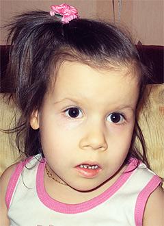 Амалия Гаитова, 4 года, сахарный диабет 1 типа, спасет инсулиновая помпа. 189900 руб.