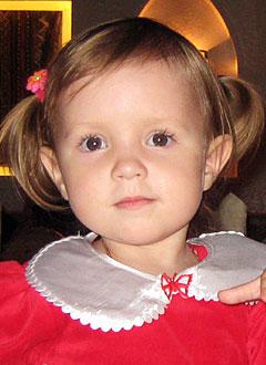Соня Вакина, 2 года, злокачественная опухоль ствола головного мозга – глиома, спасет лечение в клинике Харли Стрит (Лондон, Великобритания). 10494500 руб.