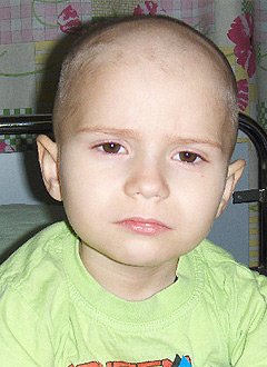 Вадим Горбачев, 5 лет, злокачественная опухоль – нейробластома заднего средостения 4 стадии, спасет трансплантация костного мозга и химиотерапия. 3900000 руб.