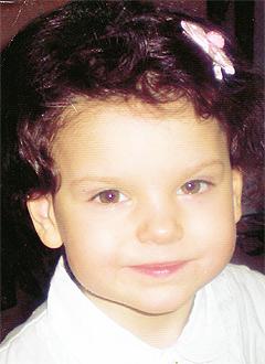 Настя Зубанова, 4 года, менингоэнцефалит, перинатальная патология головного мозга, спасет годовой курс лечения. 193400 руб.