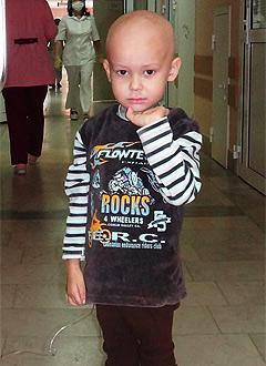 Рушан Байметов, 4 года, острый лимфоблатный лейкоз, спасет препарат мабтера. 323948 руб.