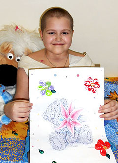 Даша Кравчукова, 11 лет, острый лимфобластный лейкоз, рецидив, спасет трансплантация костного мозга и противоинфекционные лекарства. 1178490 руб.