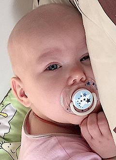 Ксения Кутилова, 1 год, врожденный острый лимфобластный лейкоз, требуются лекарства. 1554750 руб.