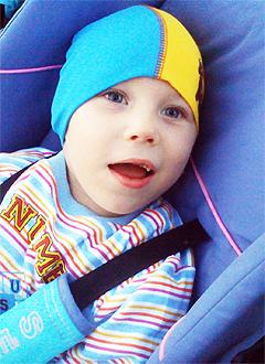 Данила Плотников, 6 лет, детский церебральный паралич, требуется лечение. 199740 руб.