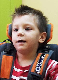 Сема Фридман, 5 лет, детский церебральный паралич, требуется курсовое лечение. 199200 руб.