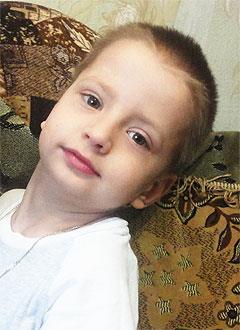 Кирилл Грушевой, 6 лет, детский церебральный паралич, требуется лечение. 199430 руб.