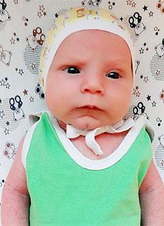 Богдан Игнатьев, 2 месяца, врожденная двусторонняя косолапость, требуется лечение по методу Понсети. 151900 руб.