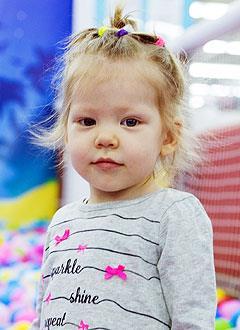 Элина Нигаметзянова, 2 года, сахарный диабет 1-го типа, требуется инсулиновая помпа и расходные материалы к ней. 226223 руб.