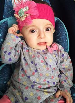 Марьям Рамазанова, полтора года, несовершенный остеогенез, требуется курсовое лечение. 527310 руб.