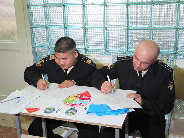 8. Военнослужащие подводного крейсера «Тверь»